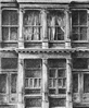 Thumbnail of 476 Broome Street, New York: Drawing by Ethel Fisher, 1976, graphite on Arches paper, 20 x 14 inches, twentieth-century drawing of a New York building façade of a mid-rise apartment building built in 1920.